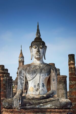 Wat Mahathat in Sukhothai Historical Park  Thailand  photo
