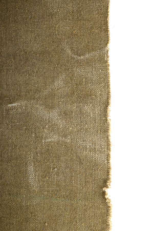 burlap sack: old canvas edge fabric texture for old fashioned background