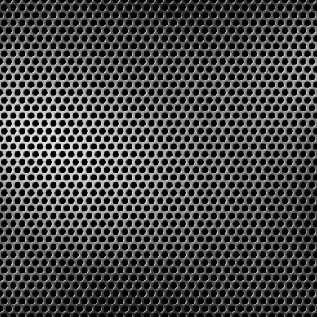 perforated metal background Banco de Imagens - 12402430
