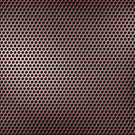 perforated metal background Stock Photo - 12402442