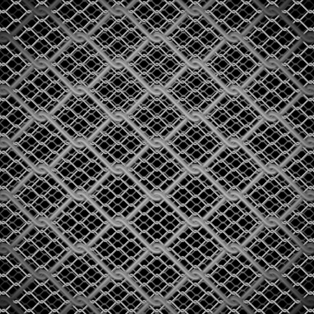 metal chain link fence background Stock Photo - 12402440