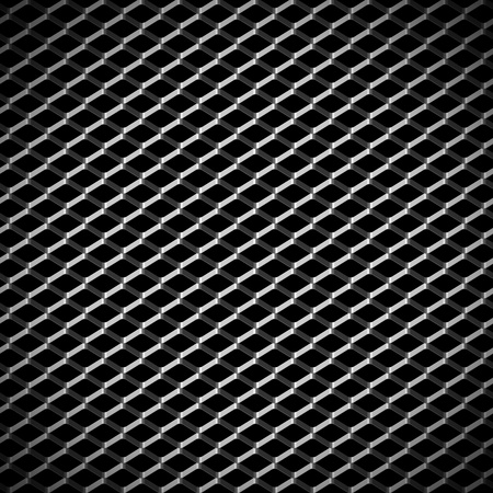 metal grill abstract background Stock Photo