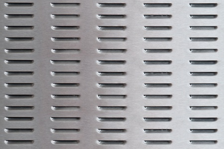 perforated metal background Stock Photo - 12402301