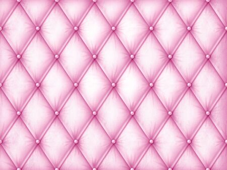luxury pink leather with buttons photo