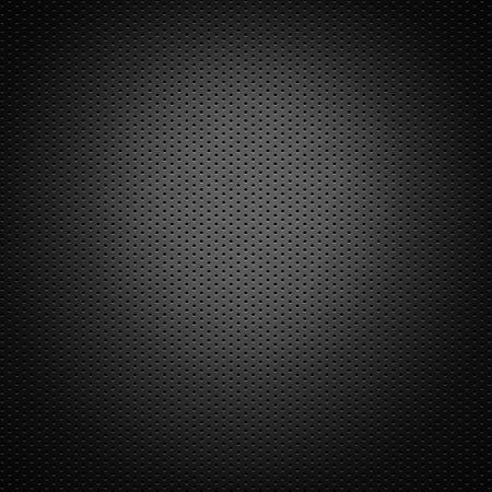 穴あきの炭素繊維の背景