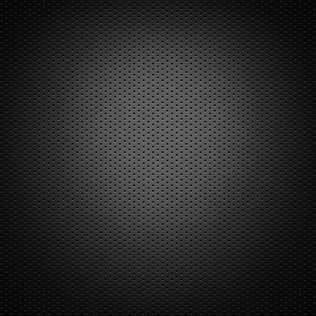texture: perforated carbon fiber background Stock Photo