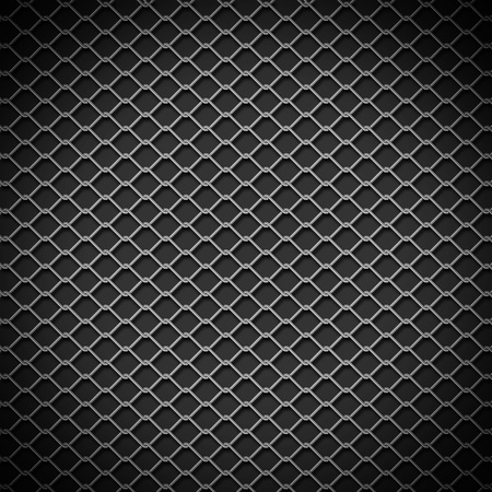 fence background: metal chain link fence background