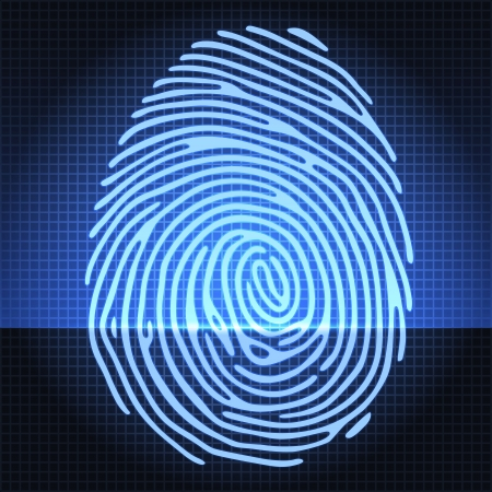 theft: fingerprint identification system