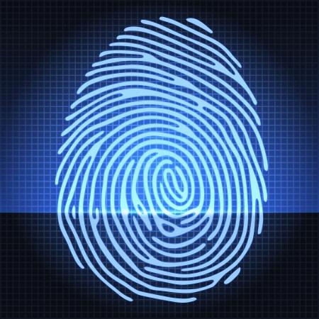 empreintes digitales: Syst�me d'identification d'empreintes digitales
