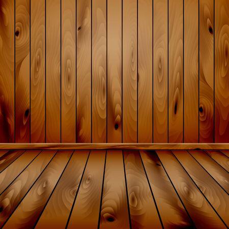 log wall: wood background