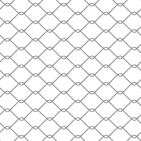 chain fence: Chain link fence
