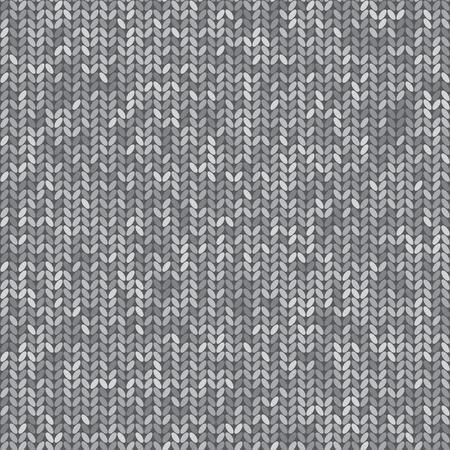 cotton wool: Knit seamless pattern