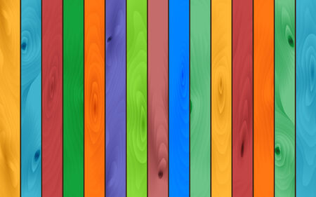 log wall: the color wood abstract background Illustration