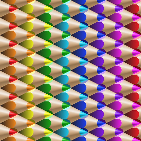 the color pencil seamles pattern Vector