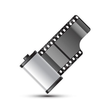 35 mm: reel of 35 mm photo film