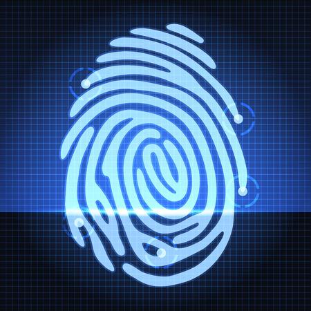 dactylogram: fingerprint identification system