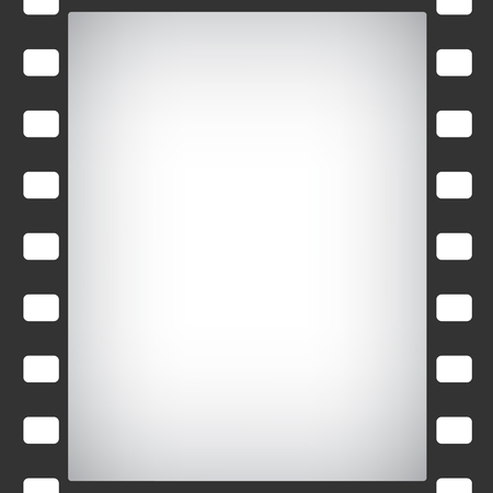 photographic: film stripe frame abstract background Illustration