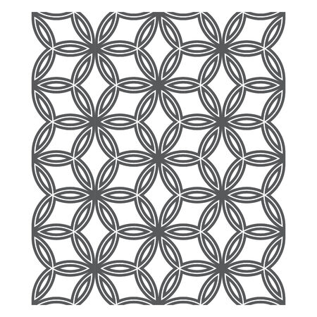 tileable: Oriental Pattern, seamless chain link fence ornament