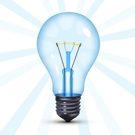 watt: tungsten light bulb