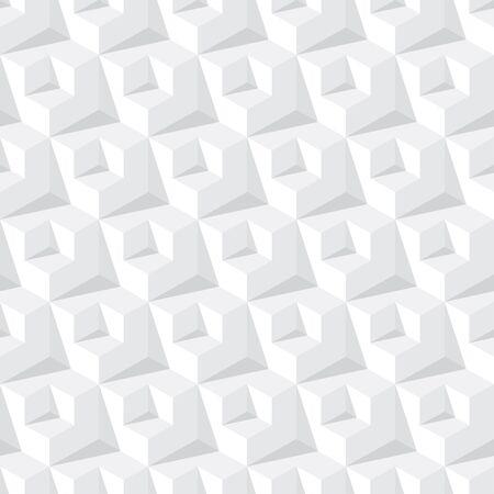 grey pattern: abstract cube grey seamless pattern