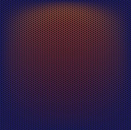 Perforated carbon fiber weave abstract background Vector