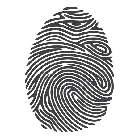 fingerprint: Black Finger Print