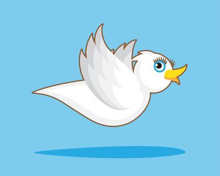 white bird: White Bird Flight