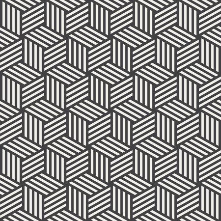 stripe pattern: stripe cube pattern