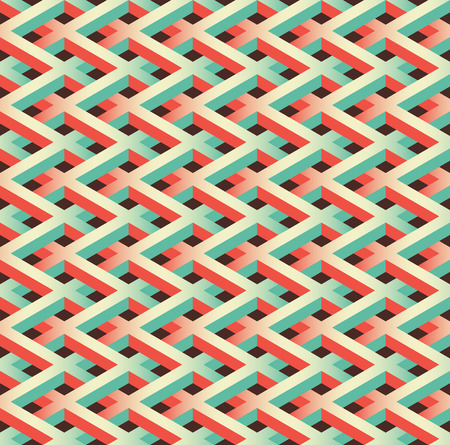 link fence: abstract seamless chain link fence pattern Illustration
