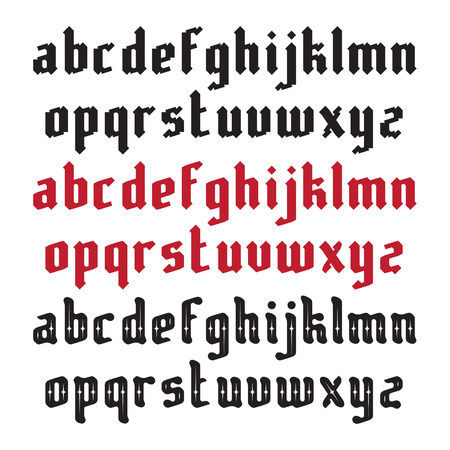 gothic style: Three Modern Gothic Style Fonts