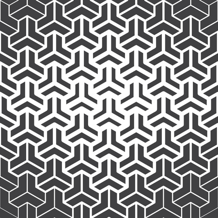 thickness: abstract Seamless pattern with different kinds of stroke thickness