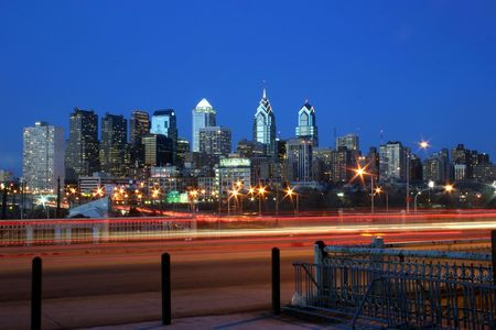 brotherly love: Philly at Night