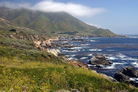 steinbeck: Big Sur Coastline