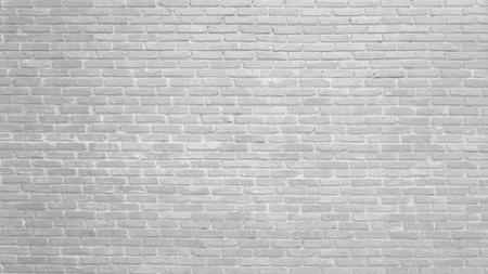 Achtergrond van de witte textuur van het bakstenen muurpatroon. Geweldig voor graffiti-inscripties.