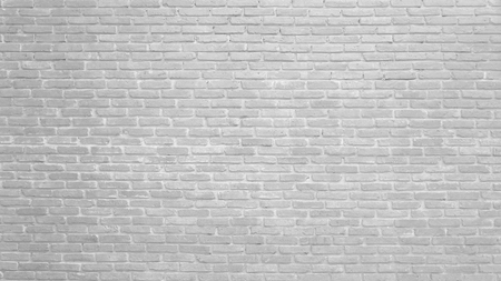 Background of white brick wall pattern texture. Great for graffiti inscriptions.