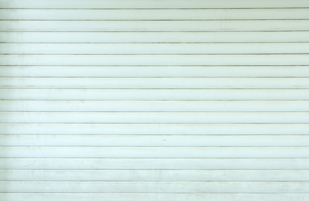 untidy: closed untidy roller blinds Stock Photo