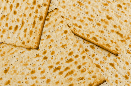 jewish group: a group of rectangular Matzot, the traditional Jewish bread