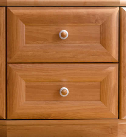 drawers: close-up of cabinet drawers
