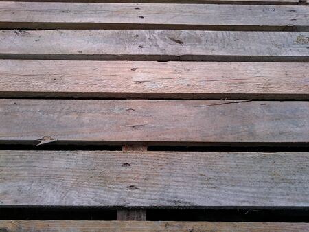 nailed: background of wooden planks nailed together Stock Photo