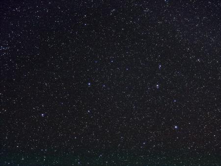 ライオン、レオ、暗い夜空の星座星座の星です。NASA の画像を使用せずオリジナル企画