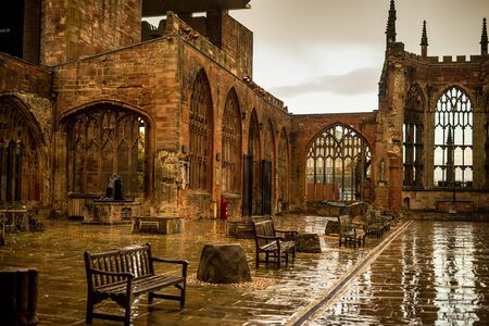 Coventry Cathedral, Famous place in Midlands. It ha been destroyed in second world war.