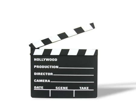oscars: A photo of a Hollywood moviw clapboard