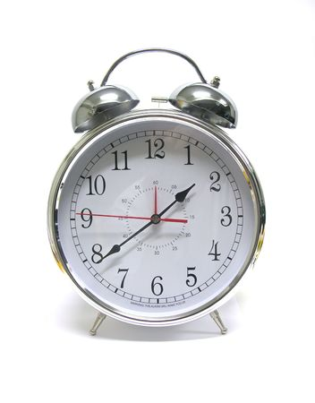 A photo of an alram clock Stock fotó