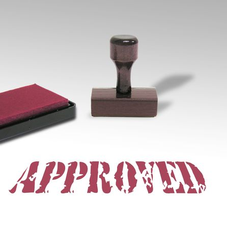 allow:  A photo of a stamp and pad