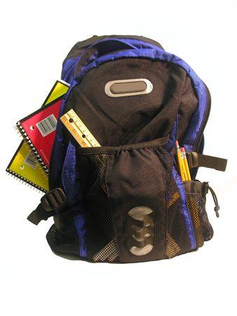 学校用品搭載バックパックの写真