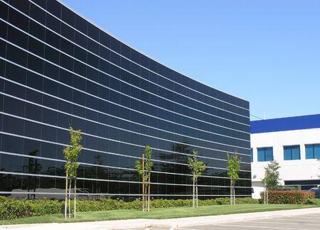 A photo of a business headquarters Imagens