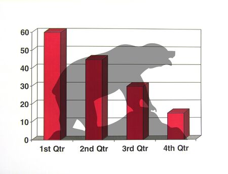 An illustration of a Bear Market