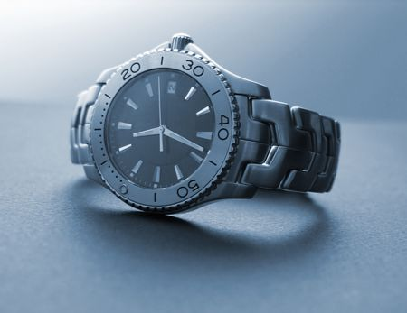 pricey: A photo of a pricey mens watch Stock Photo