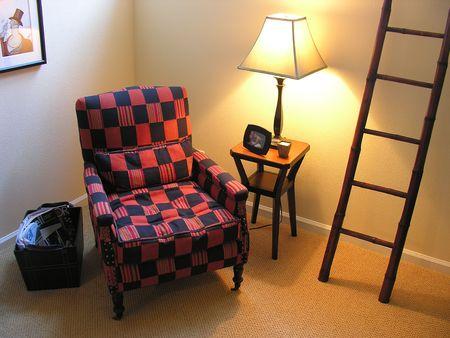 den: Cozy den interior
