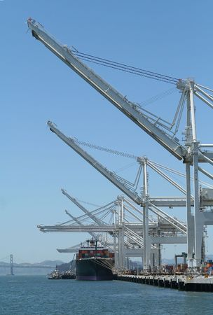 Shipping cargo port photo